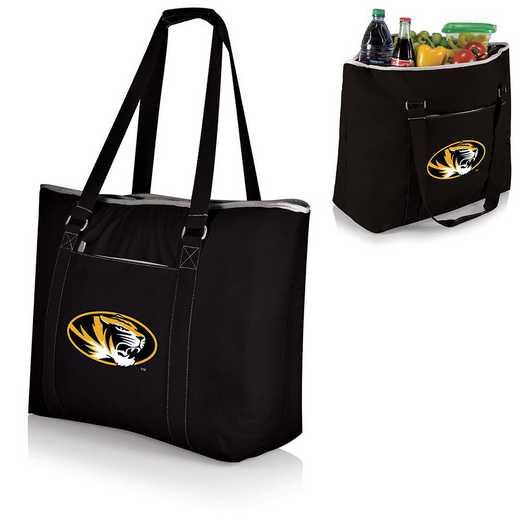598-00-175-394-0: Mizzou Tigers - Tahoe Cooler Tote (Black)
