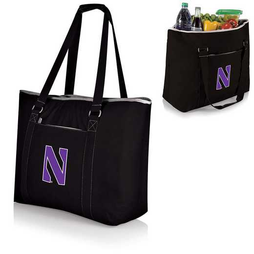 598-00-175-434-0: Northwestern Wildcats - Tahoe Cooler Tote (Black)