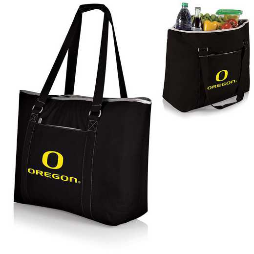 598-00-175-474-0: Oregon Ducks - Tahoe Cooler Tote (Black)