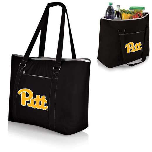 598-00-175-504-0: Pittsburgh Panthers - Tahoe Cooler Tote (Black)