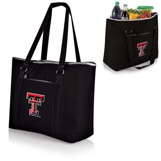 598-00-175-574-0: Texas Tech Red Raiders - Tahoe Cooler Tote (Black)