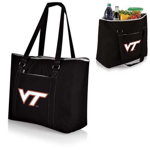 598-00-175-604-0: Virginia Tech Hokies - Tahoe Cooler Tote (Black)