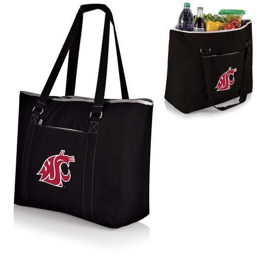 598-00-175-634-0: Washington State Cougars - Tahoe Cooler Tote (Black)