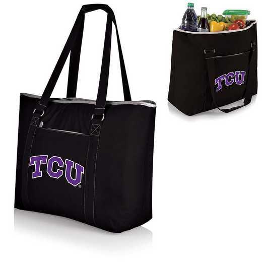 598-00-175-844-0: TCU Horned Frogs - Tahoe Cooler Tote (Black)