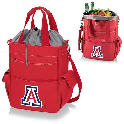 614-00-100-014-0: Arizona Wildcats - Activo Cooler Tote (Red)