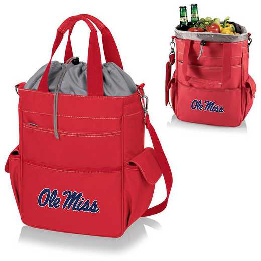 614-00-100-374-0: Ole Miss Rebels - Activo Cooler Tote (Red)