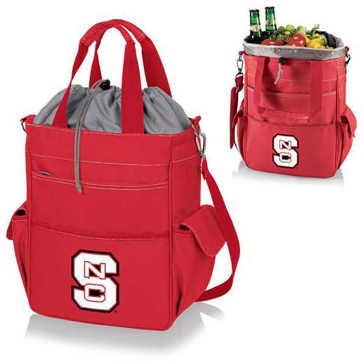 614-00-100-424-0: NC State Wolfpack - Activo Cooler Tote (Red)