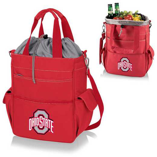 614-00-100-444-0: Ohio State Buckeyes - Activo Cooler Tote (Red)