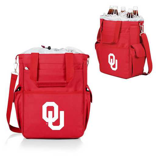 614-00-100-454-0: Oklahoma Sooners - Activo Cooler Tote (Red)