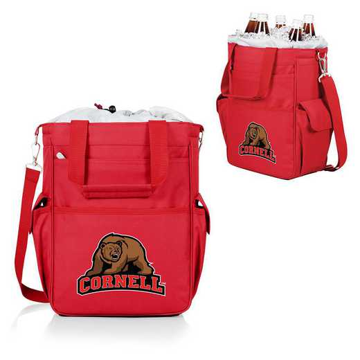 614-00-100-684-0: Cornell Big Red - Activo Cooler Tote (Red)
