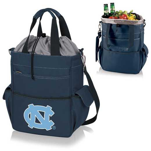 614-00-138-414-0: North Carolina Tar Heels - Activo Cooler Tote (Navy)