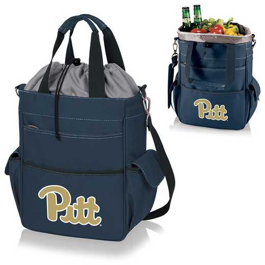 614-00-138-504-0: Pittsburgh Panthers - Activo Cooler Tote (Navy)