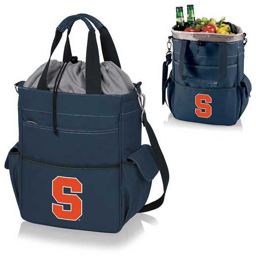 614-00-138-544-0: Syracuse Orange - Activo Cooler Tote (Navy)