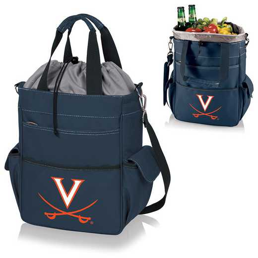 614-00-138-594-0: Virginia Cavaliers - Activo Cooler Tote (Navy)