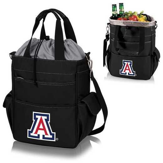 614-00-175-014-0: Arizona Wildcats - Activo Cooler Tote (Black)