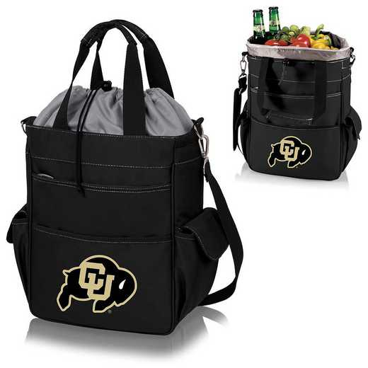 614-00-175-124-0: Colorado Buffaloes - Activo Cooler Tote (Black)