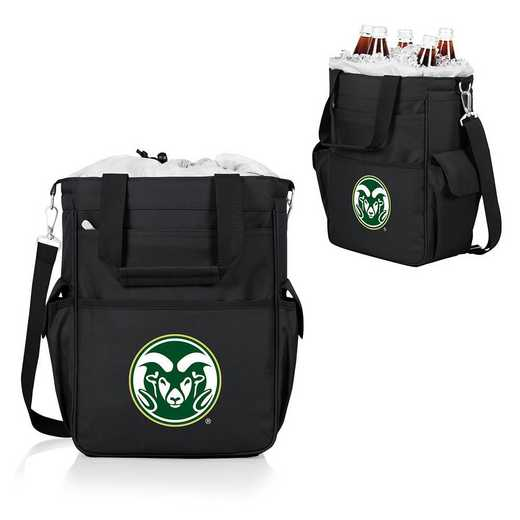 614-00-175-134-0: Colorado State Rams - Activo Cooler Tote (Black)
