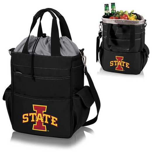 614-00-175-234-0: Iowa State Cyclones - Activo Cooler Tote (Black)