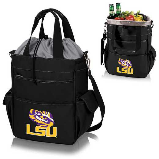 614-00-175-294-0: LSU Tigers - Activo Cooler Tote (Black)