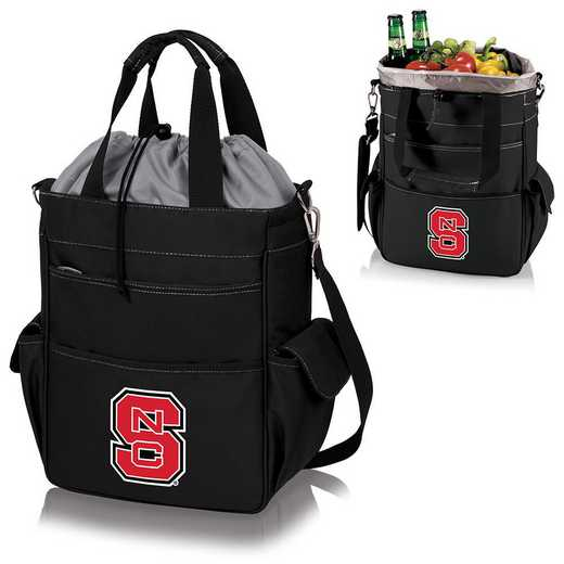 614-00-175-424-0: NC State Wolfpack - Activo Cooler Tote (Black)