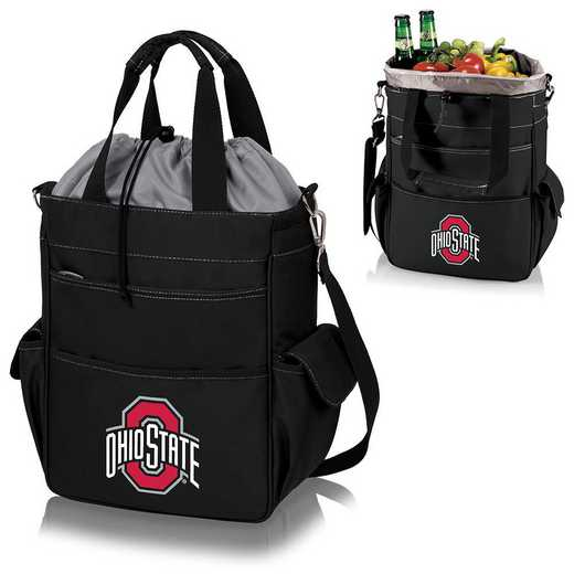 614-00-175-444-0: Ohio State Buckeyes - Activo Cooler Tote (Black)