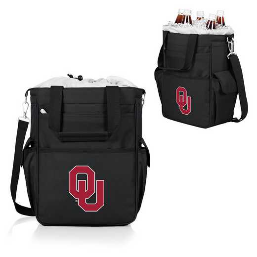 614-00-175-454-0: Oklahoma Sooners - Activo Cooler Tote (Black)