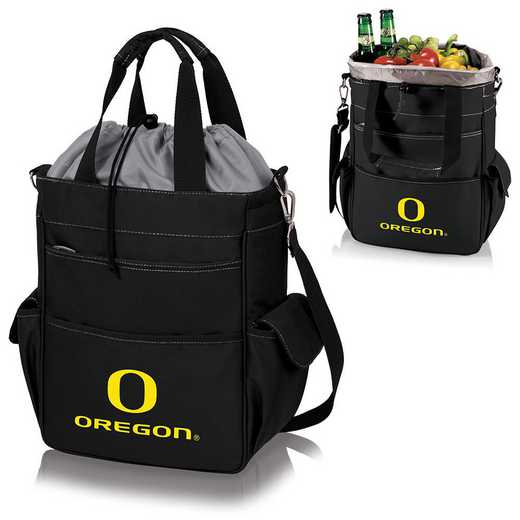 614-00-175-474-0: Oregon Ducks - Activo Cooler Tote (Black)