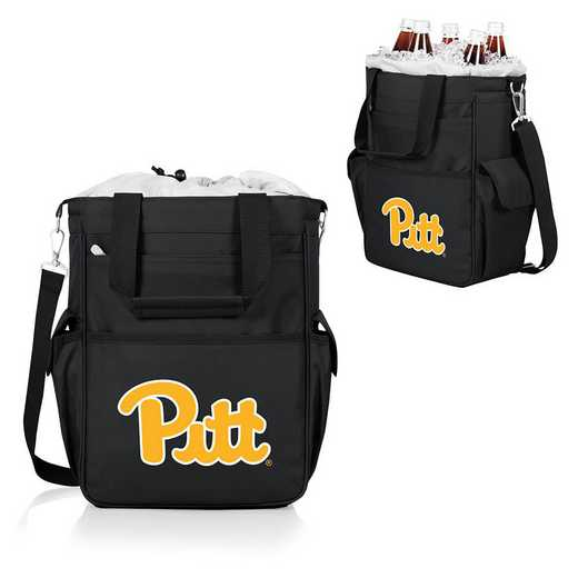 614-00-175-504-0: Pittsburgh Panthers - Activo Cooler Tote (Black)