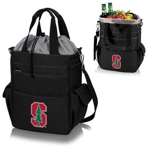 614-00-175-534-0: Stanford Cardinal - Activo Cooler Tote (Black)