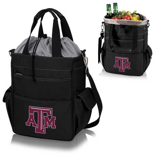 614-00-175-564-0: Texas A&M Aggies - Activo Cooler Tote (Black)