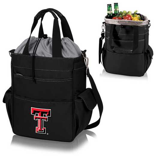 614-00-175-574-0: Texas Tech Red Raiders - Activo Cooler Tote (Black)
