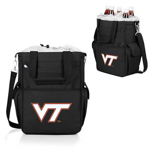 614-00-175-604-0: Virginia Tech Hokies - Activo Cooler Tote (Black)