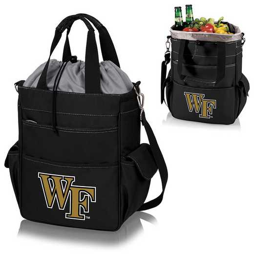 614-00-175-614-0: Wake Forest Demon Deacons - Activo Cooler Tote (Black)