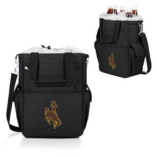 614-00-175-694-0: Wyoming Cowboys - Activo Cooler Tote (Black)