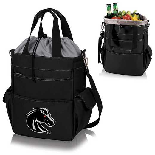 614-00-175-704-0: Boise State Broncos - Activo Cooler Tote (Black)