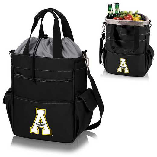 614-00-175-794-0: App State Mountaineers - Activo Cooler Tote (Black)