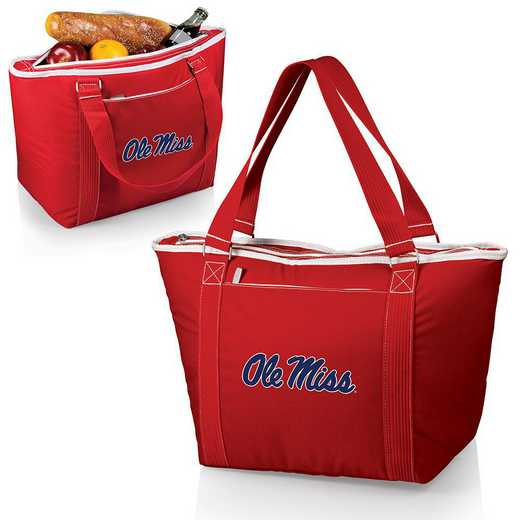 619-00-100-374-0: Ole Miss Rebels - Topanga Cooler Tote (Red)