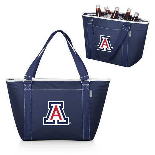 619-00-138-014-0: Arizona Wildcats - Topanga Cooler Tote (Navy)