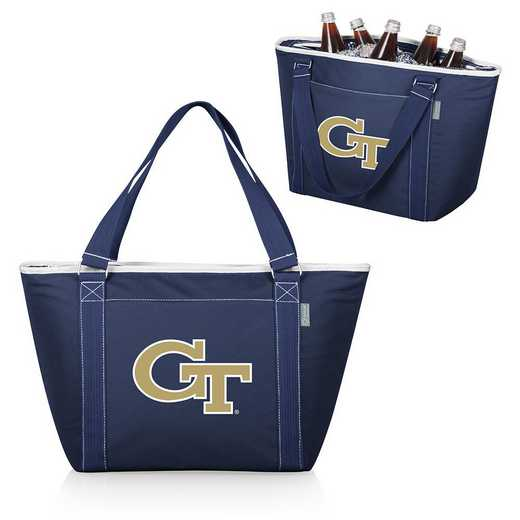 619-00-138-194-0: Georgia Tech Yellow Jackets - Topanga Cooler Tote (Navy)