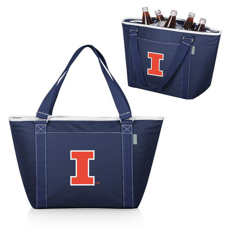 619-00-138-214-0: Illinois Fighting Illini - Topanga Cooler Tote (Navy)