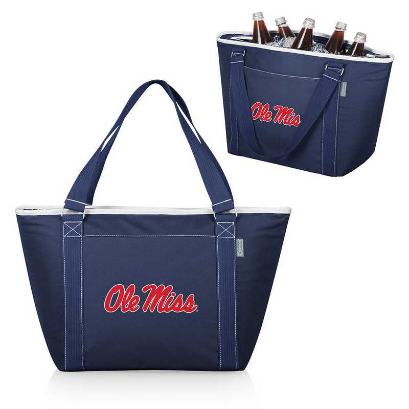 619-00-138-374-0: Ole Miss Rebels - Topanga Cooler Tote (Navy)
