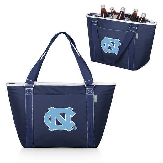 619-00-138-414-0: North Carolina Tar Heels - Topanga Cooler Tote (Navy)