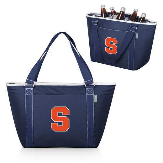 619-00-138-544-0: Syracuse Orange - Topanga Cooler Tote (Navy)