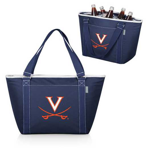 619-00-138-594-0: Virginia Cavaliers - Topanga Cooler Tote (Navy)
