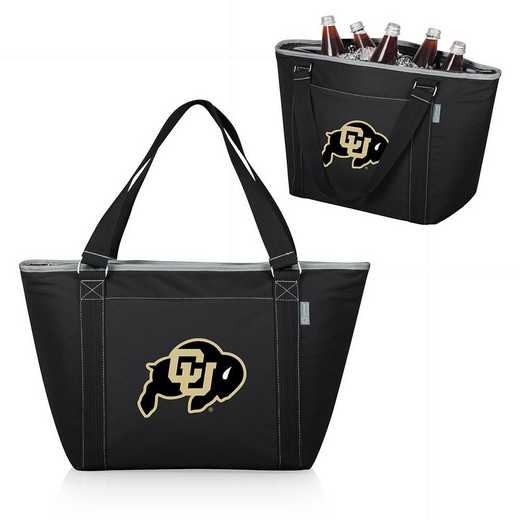 619-00-175-124-0: Colorado Buffaloes - Topanga Cooler Tote (Black)