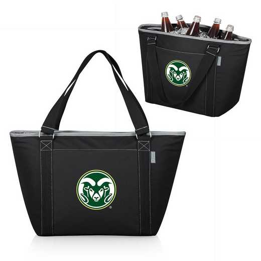 619-00-175-134-0: Colorado State Rams - Topanga Cooler Tote (Black)