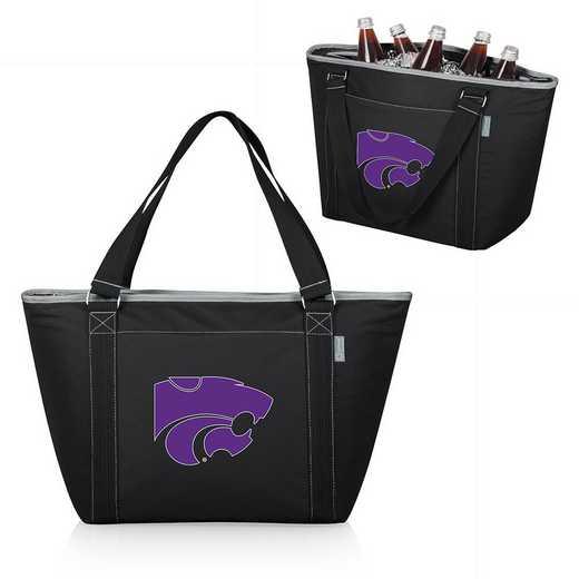 619-00-175-254-0: Kansas State Wildcats - Topanga Cooler Tote (Black)