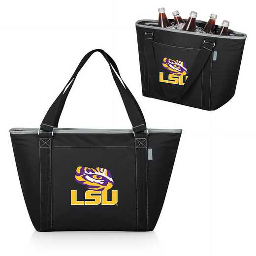 619-00-175-294-0: LSU Tigers - Topanga Cooler Tote (Black)