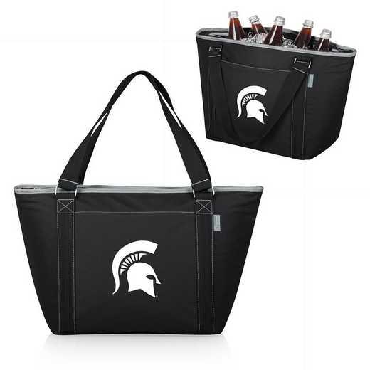619-00-175-354-0: Michigan State Spartans - Topanga Cooler Tote (Black)