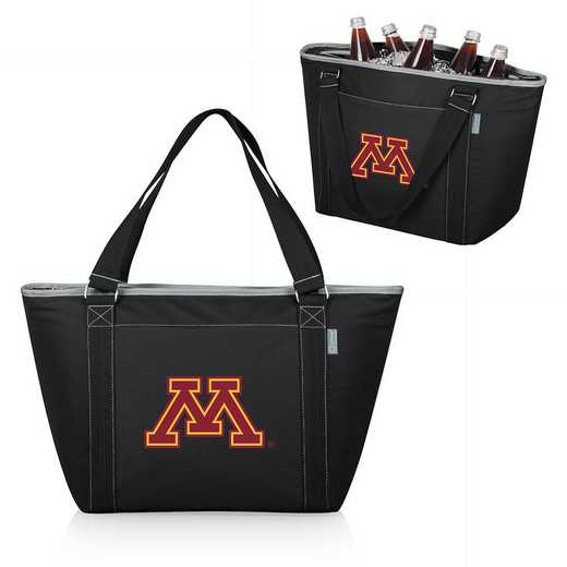 619-00-175-364-0: Minnesota Golden Gophers - Topanga Cooler Tote (Black)